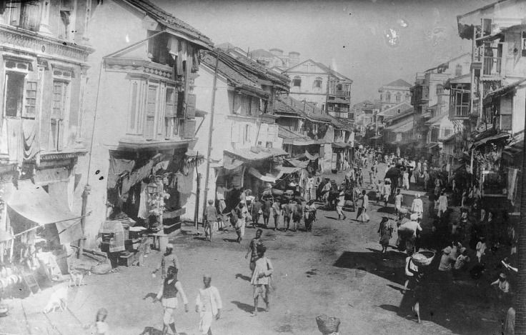 Streets of bombay 1900
