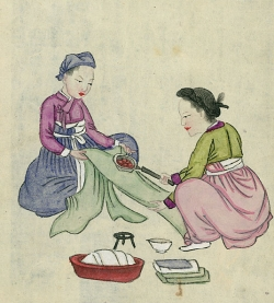चीन मधिल चित्र